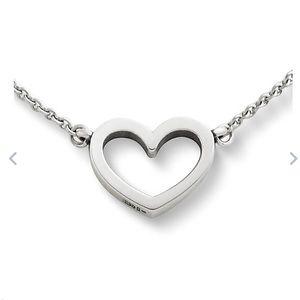 James Avery Petite Heart Necklace